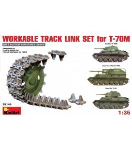 35146 Workable Track Link Set for T-70