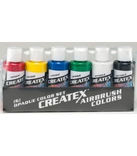 5803-00 Createx Opaque Set
