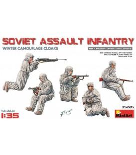 35226 Soviet Assault Infantry (Winter Camouflage Cloaks)