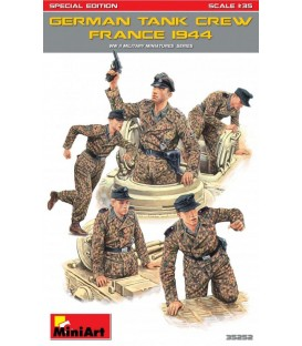35252 German Tank Crew (France 1944) Special edition