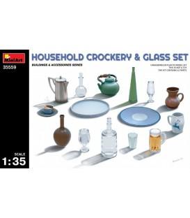 35559 Household Crockery & Glass Set