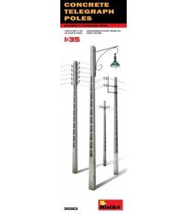 35563 Concrete Telegraph Poles