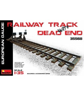 35568 Railway Track with Dead End European Gauge