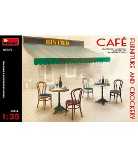35569 Cafe Furniture & Crockery