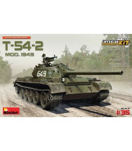 37004 T-54-2 mod.1949 Soviet Medium Tank. Interior kit.