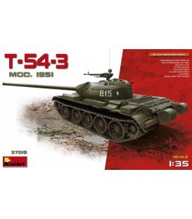 37015 T-54-3 Soviet Medium Tank Mod. 1951