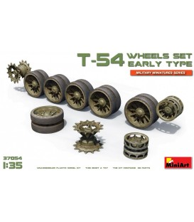 37054 T-54 Wheels Set. Early Type
