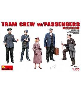 38007 Tram Crew with Passengers