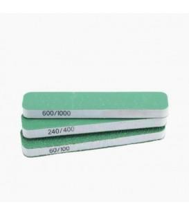 Set 3 Esponja Abrasiva Vallejo grao duplo 90x19x6 mm.
