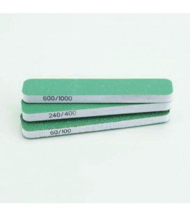Set 3 Esponges Paper de vidre Vallejo Doble Gra 90x19x12 mm.