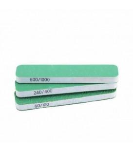 Set 3 Esponja Abrasiva Vallejo grao duplo 80x30x12 mm
