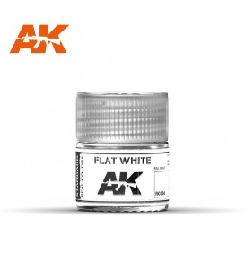 RC004 Flat White 10ml. AK Real Colors
