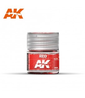 RC006 Red 10ml. AK Real Colors