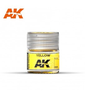 RC007 Yellow 10ml. AK Real Colors