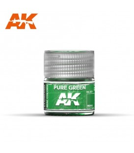 RC012 Pure Green 10ml. AK Real Colors