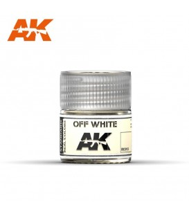RC013 Off White 10ml. AK Real Colors