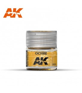 RC016 Ochre 10ml. AK Real Colors