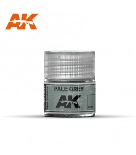 RC021 Pale Grey 10ml. AK Real Colors