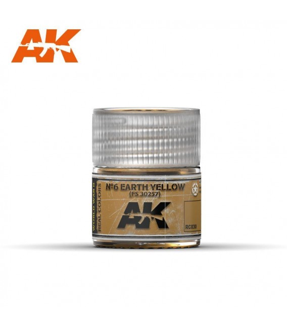 RC030 Earth Yellow FS 30257 10ml. AK Real Colors