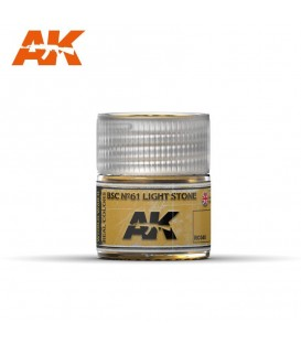 RC040 BSC Nº61 Light Stone 10ml. AK Real Colors