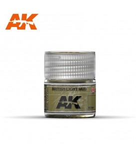 RC044 British Light Mud 10ml. AK Real Colors