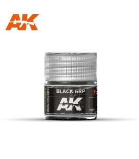 RC071 Black 6RP 10ml. AK Real Colors