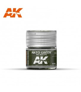 RC080 NATO Green 10ml. AK Real Colors