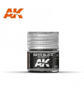 RC082 NATO Black 10ml. AK Real Colors
