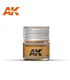 RC093 British Sand Yellow 10ml. AK Real Colors