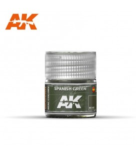 RC105 Spanish Green 10ml. AK Real Colors