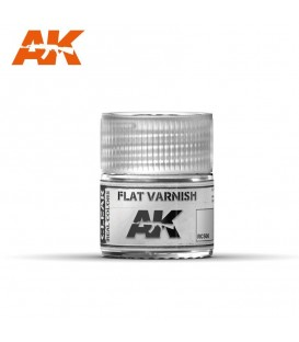 RC500 Flat Varnish 10ml. AK Real Colors
