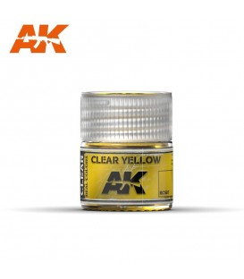 RC507 Clear yellow 10ml. AK Real Colors