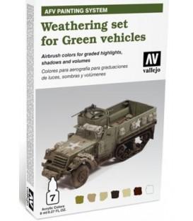 78.406 Set AFV Envelliment per Vehicles de color Verd.