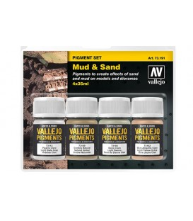 "73.191 ""Mud and Sand"" Pigments Vallejo"