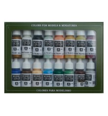 Set Vallejo Model Color 16 u. (17 ml.) Nautico (Edad Vapor)