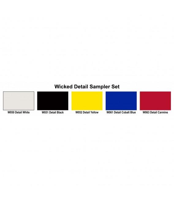 Wicked Detail Sampler Set