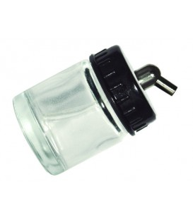 i) Godet en verre 22 ml. pour aerographe (DC02)