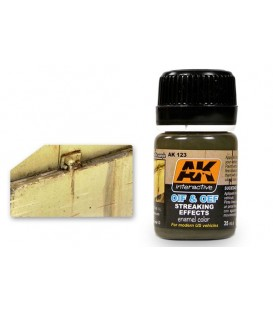AK123 OIF & OEF - US Vehicles Streaking effects 35 ml.