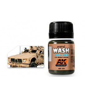 AK121 OIF & OEF - US Vehicles Wash 35 ml.