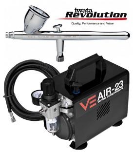 Airbrushing kit Revolution CR / Air23