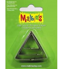 36003 Triangles Set de 3 talladors Makins