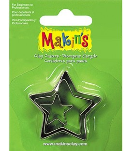 36006 Stars Set 3 Cutters Makins