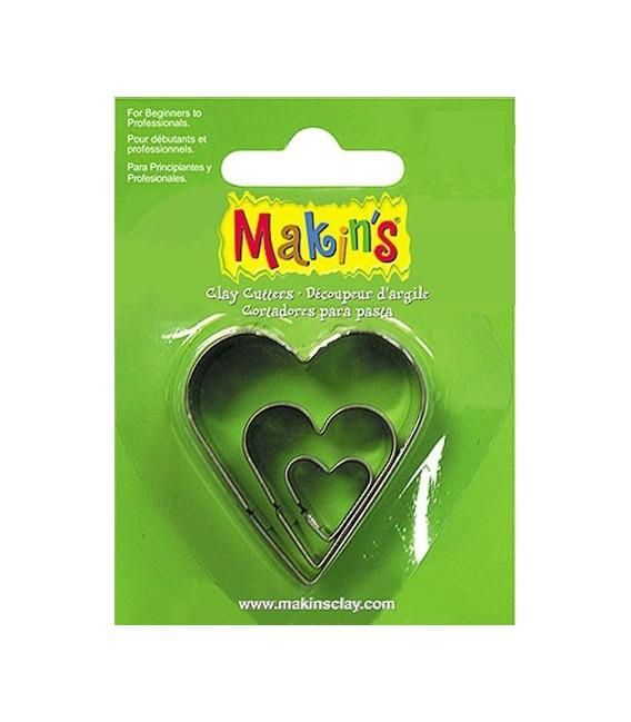 36007 Cors Set de 3 talladors Makins
