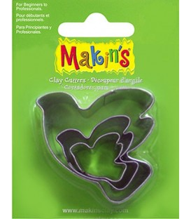 36012 Palomas Set de 3 cortadores Makins