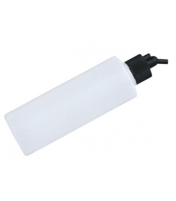 e) Godet en plastique translucide 125 cc pour aerographe (DP06)