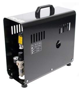 e) Compressor automatic per aerografia SIL-AIR 30 D