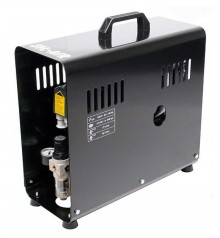 e) Automatic airbrush compressor SIL-AIR 30 D