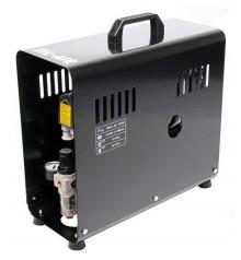 e) Compresor automatico para aerografia SIL-AIR 30 D