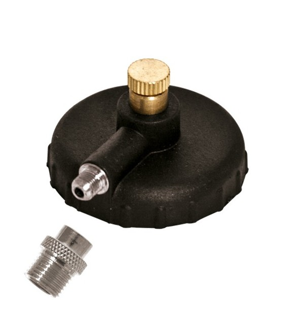 i) Adaptador y racord 1/8 m.para spray propelente para aerografo
