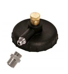 i) Adapter and racord 1/8 for spray propellant per aerografo